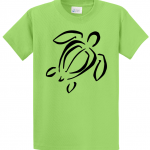 SEA TURTLE T Shirt in Limeby Lost Bay Designs™